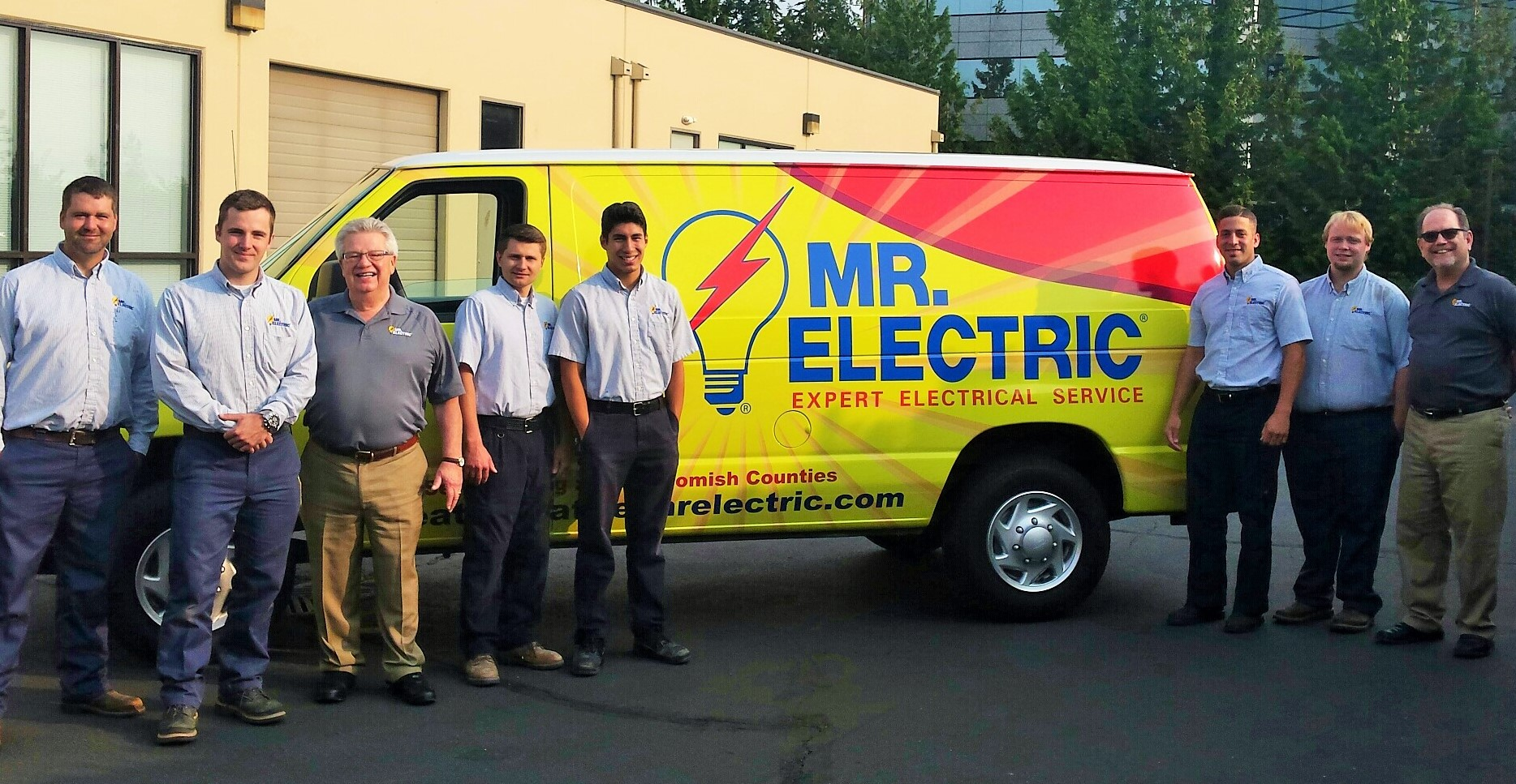 Mr Electric Service Professionals are here to serve you.