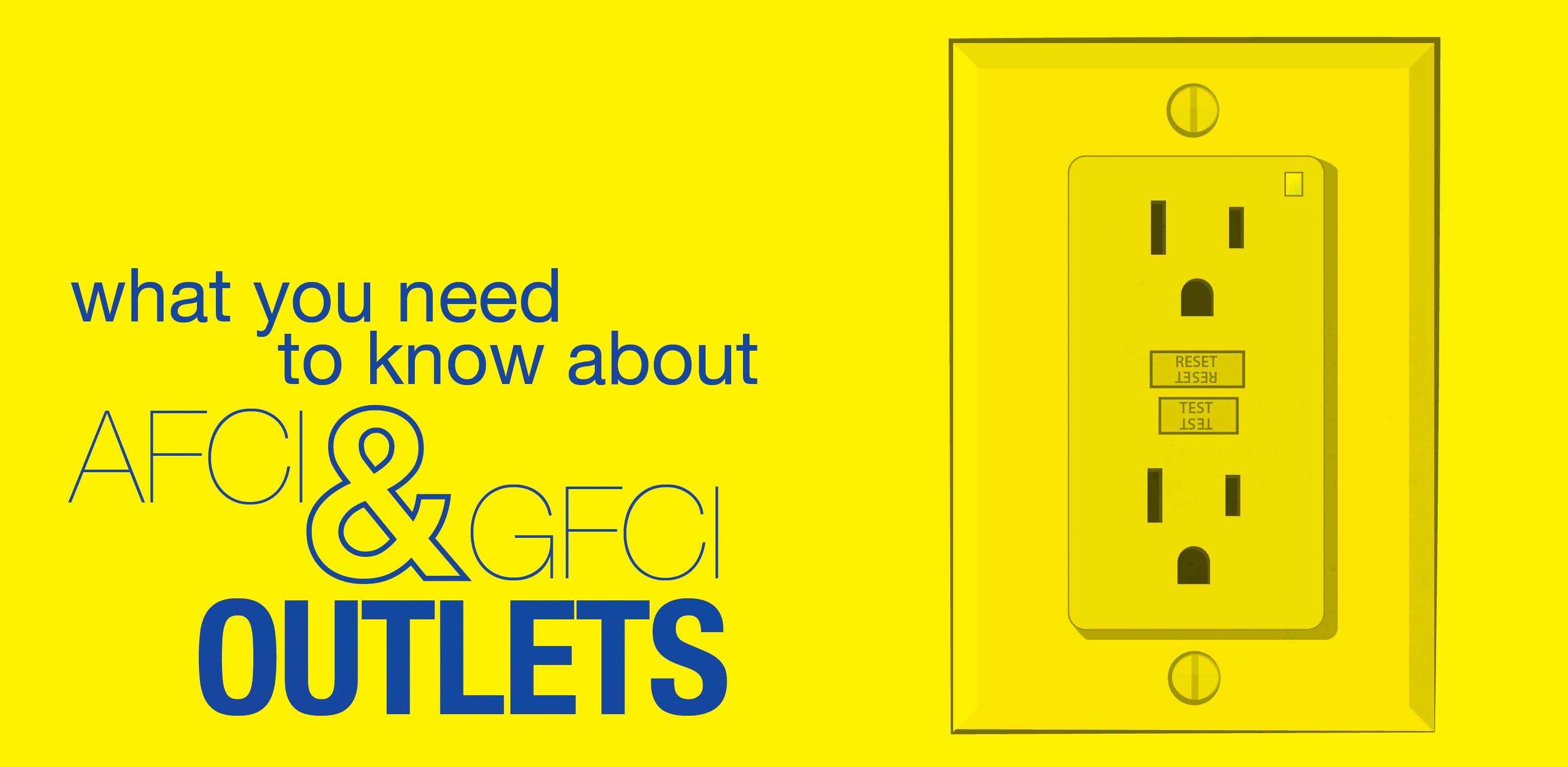 What You Need to Know About AFCI and GFCI Outlets | Mr ... Ac Receptacle Wiring Code on