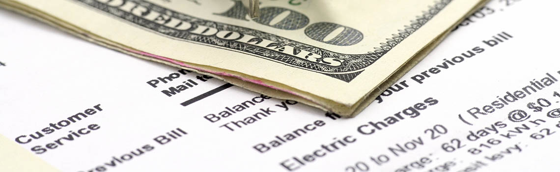 Money on top of electric bill