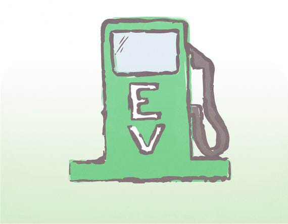 EV charger for electric powered cars
