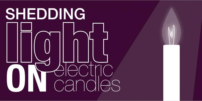 shedding light on electrical candles with a picture of electric candle