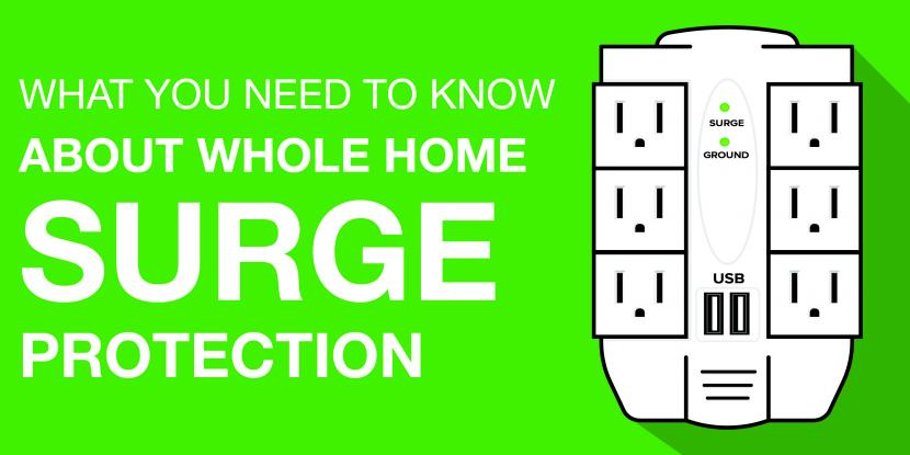 A picture of a white surge protector