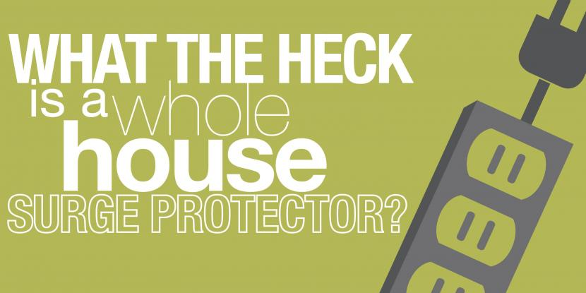 what the heck is a whole house surge protecor with a picture of a surge protector