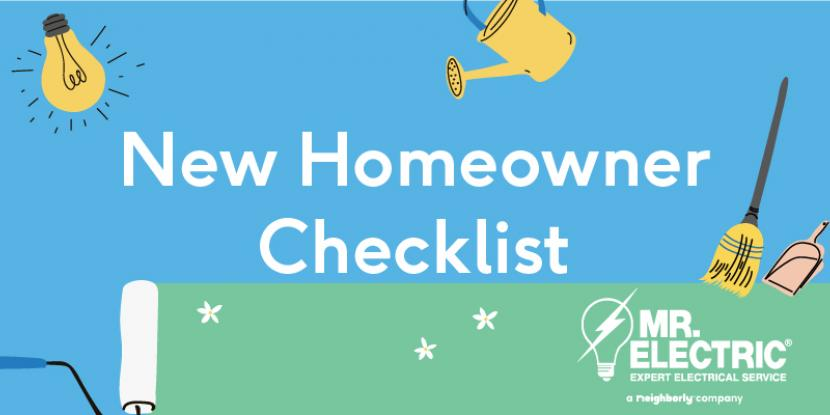 Avoid headaches and keep your home's electrical system safe by inspecting wires and plugs when you move in. Read the full New Homeowners Checklist.
