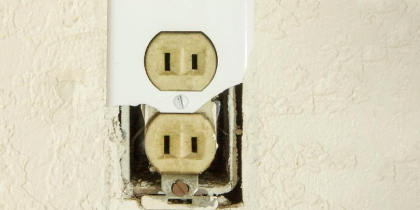 Two prong outlets need to be switched out for grounded, three prong versions to best keep your electronics and home safe.