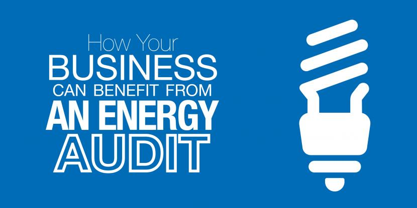 How your business can benefit from an energy audit with a picture of a light bulb