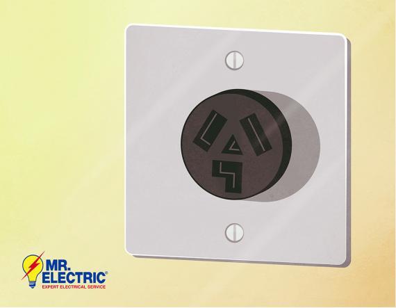 a 240 volt outlet is ideal for larger appliances.